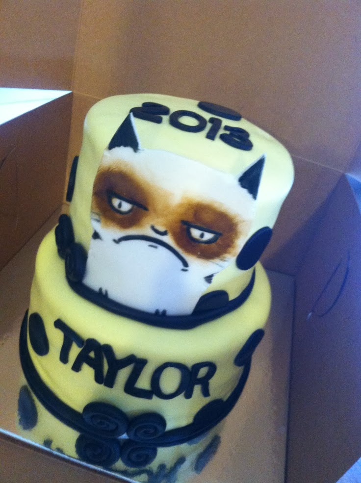 Grumpy Cat Cakes Caterville