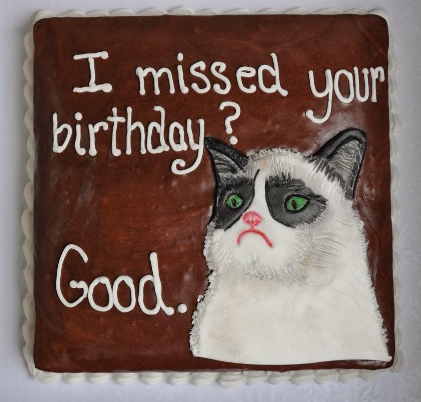 Grumpy Cat Cakes